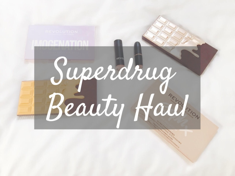 superdrug-beauty-haul-makeup-revolution